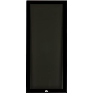 Corsair 220T RGB Front Tempered Glass Panel, Black - Front Panel