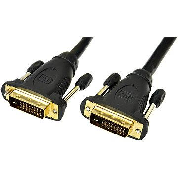PremiumCord DVI-D 2m Connecting Cable - Video Cable