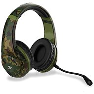 4Gamers Camo Edition Gaming Headset - Woodland - PS4 - Gaming Headset