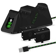 STEALTH Twin Charging Dock + Battery Packs - Black - Xbox - Charging Station