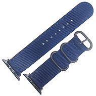 Eternico 42mm Apple Watch Nylon Band, Dark Blue - Watch band