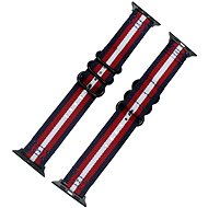 Eternico 42mm / 44mm / 45mm Nylon Band Blue-Red for Apple Watch - Watch Band