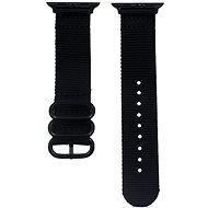 Eternico Apple Watch 42/44 mm Nylon Band, Black - Watch band