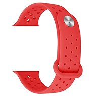 Eternico Apple Watch 38/40mm Silicone Band red - Watch band