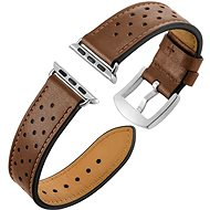 Eternico 38mm Apple Watch Leather Band, Brown - Watch band