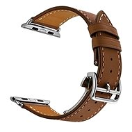 Eternico 42mm / 44mm / 45mm Leather Strap Brown for Apple Watch - Watch Band