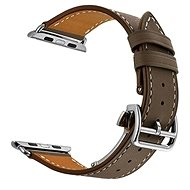 Eternico 42mm / 44mm Leather Strap Dark Brown for Apple Watch - Watch band