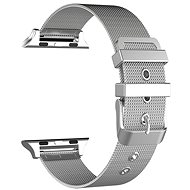 Eternico Apple Watch 42mm Mesh Metal Band, Silver - Watch band