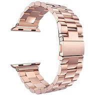 Eternico 38mm Apple Watch Steel Band, Rose Gold - Watch band