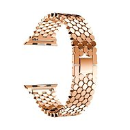 Eternico Apple Watch 42mm Metal Band Rose Gold - Watch band