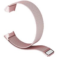 Eternico Fitbit Charge 3/4 Steel Pink (Large) - Watch band