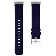 Eternico Fitbit Charge 3 Canvas, Midnight Blue (Large) - Watch band