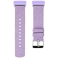Eternico Fitbit Charge 3 Canvas, Violet (Large) - Watch band