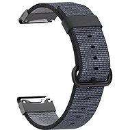 Watch band Eternico Garmin Quick Release 22 Nylon, Black - Řemínek
