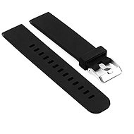 Watch Band Eternico Essential with Metal Buckle universal Quick Release 22mm black