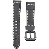 Watch Band Eternico Genuine Leather universal Quick Release 22mm black
