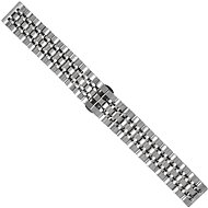 Watch Band Eternico Stainless Steel universal Quick Release 22mm silver