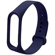 Eternico Mi Band 3 / 4 Basic Dark Blue - Watch band