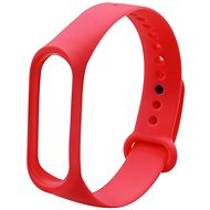 Eternico Mi Band 3 / 4 Basic Red - Watch band