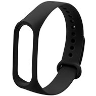 Eternico Mi Band 3 / 4 Basic Black - Watch band