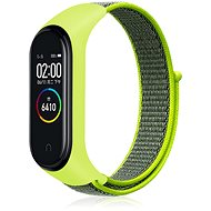 Eternico Mi Band 3 / 4 Nylon, Lime - Watch band