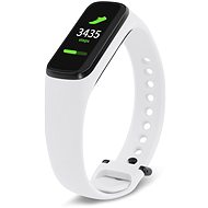 Eternico Samsung Galaxy Fit E Silicone Band, White - Watch band