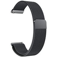 Eternico Quick Release 20 Milanese Band black for Samsung Galaxy Watch - Watch band