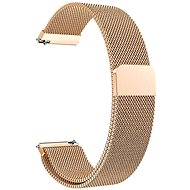 Eternico Quick Release 20 Milanese Band Rose Gold for Samsung Galaxy Watch - Watch band