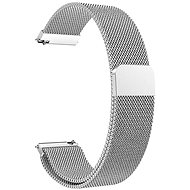 Watch Band Eternico Elegance Milanese universal Quick Release 22mm silver