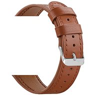 Watch band Eternico Samsung Quick Release 20 Leather Band, Brown - Řemínek