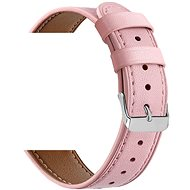 Eternico Samsung Quick Release 20 Leather Band, Pink - Watch band