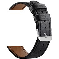 Watch Band Eternico Leather Band universal Quick Release 22mm black