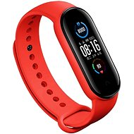 Eternico Mi Band 5 Silicone Red - Watch band