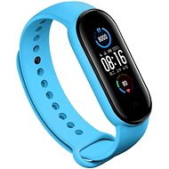 Eternico Silicone Blue for Mi Band 5 / 6 - Watch Band