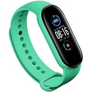 Eternico Mi Band 5 Silicone Green - Watch band