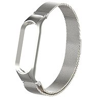 Eternico Milanese Loop Silver for Mi Band 5 / 6 - Watch Band