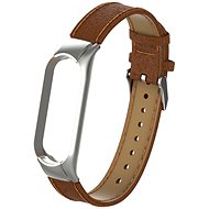 Eternico Genuine Leather Brown for Mi Band 5 / 6 - Watch Band