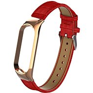 Eternico Genuine Leather Red for Mi Band 5 / 6 - Watch Band