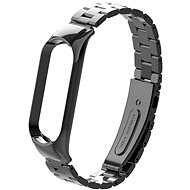 Eternico Mi Band 5 Stainless Steel Black - Watch band