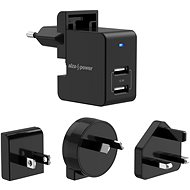 AlzaPower Travel Charger T100, Black - AC Adapter