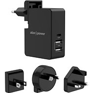AlzaPower Travel Charger T300, Black - AC Adapter