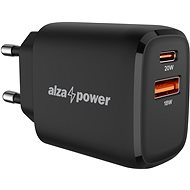 AC Adapter AlzaPower A100 Fast Charge 20W Black
