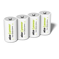AlzaPower Super Alkaline LR20 (D) 4pcs in Eco-box - Disposable batteries