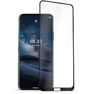 AlzaGuard 2.5D FullCover Glass Protector for Nokia 8.3 5G Black - Glass protector