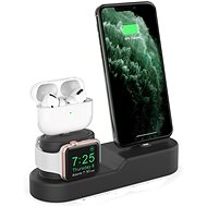AhaStyle Stand for Airpods, iPhone and iWatch Black