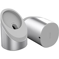 Ahastyle Aluminium and Silicone Magsafe Stand 360° Silver - MagSafe Charger Holder