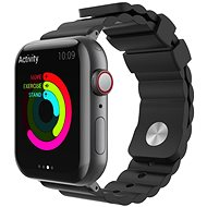 AhaStyle Strap for Apple Watch 38/40mm Silicone, Black - Watch Band