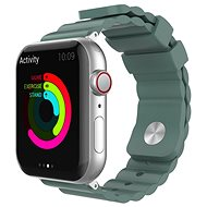 AhaStyle Strap for Apple Watch 42/44mm Silicone, Green - Watch Band