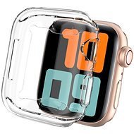 AhaStyle TPU Cover for Apple Watch 44MM Transparent, 2 pcs - Protective Watch Cover