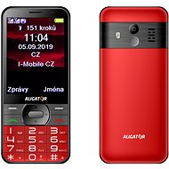 ALIGATOR A900 Senior red - Mobile Phone